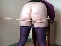 caned