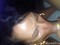dominicana mamando guebo