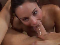 Extraordinary pov scene with a naughty porn hottie Amber Rayne in action