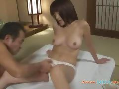 Milf Getting Her Hairy Pussy Licked Fingered Giving Blowjob For Husband On The Mattress In The Roo