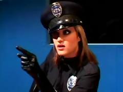 Hardcore police interrogation room!