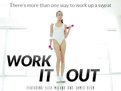 Ella Milano & James Deen in Work It Out Video