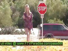 Intelligent Amateur Teen Girl Outdoor Tits Posing