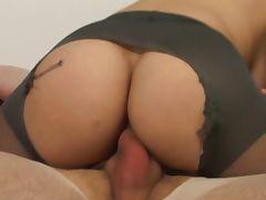 Double pantyhose tease