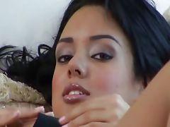 Superhot Latin glamour hussy humped