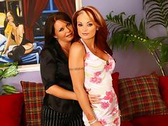 Maya Divine & Monica Mayhem & Jordan Ashley in Diary of a Milf