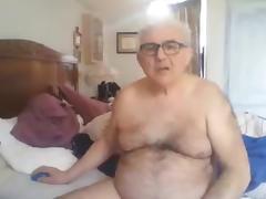 Grandpa show and stroke