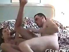 Oral after anal banging