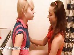 Natasha and Alice love bang girls