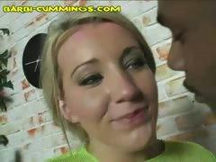 Black Stud Unloads in Blonde