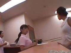 4 hand Massage For Co workers asian cumshots asian swallow japanese chinese