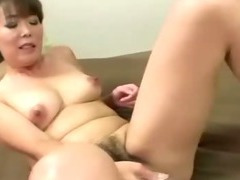 Asian mature slut takes a strangers cock deep down her throat