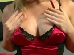 Big ass blonde handles hard pipe