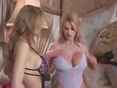 Big tit milf fight