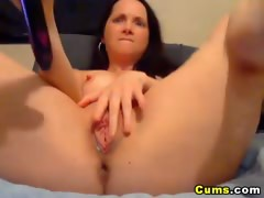 Double Dildo Penetration Made her Squirt HD