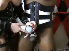 Mistress Using Her Favorite Slave bdsm bondage slave femdom domination