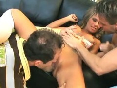 Nice sex with busty gal