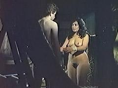 Curious Boy Found a Naked Sleeping Beauty 1970