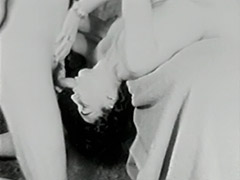 A Nun gets Her Holy Pussy Fucked 1950