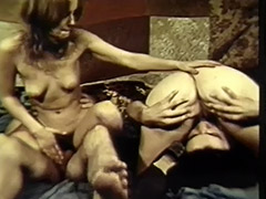 Swinger Couples Enjoy Group Sex Orgasms 1970