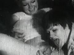 Pussy Shaving and Lesbian Lick Fest 1950