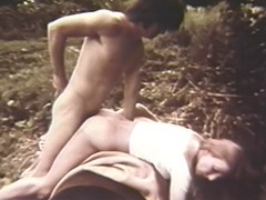 An Outdoor Blowjob with Cumshot 1960