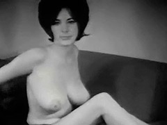 Young Busty Girl Dishes out Her Big Boobs 1960