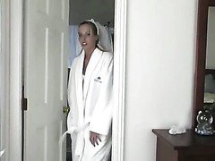 Bride gets fucked hard
