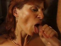 Redhead MILF double penetration