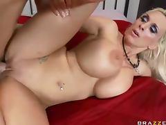 Fucking Busty Blonde MILF Holly Halston