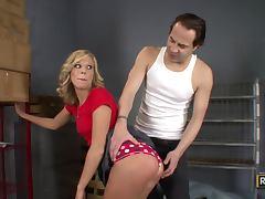 Chastity Lynn Gets Punished