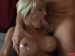 Sizzling milf Lexi Carrington gets banged hard