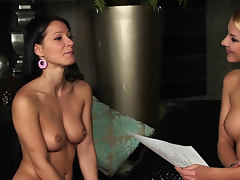 Naked ladies talk and share secrets