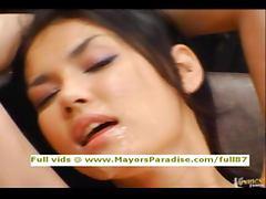 Maria Ozawa and Yuki Osawa innocent toying and having orgasm