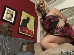 Tara Lynn Foxx enjoys the way this BBC moves inside her depths