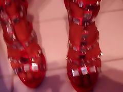 Shoejobs in sexi heels