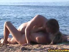 Real australian lesbians on beach