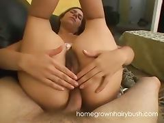 Marley mason gets her hairy clam banged hard