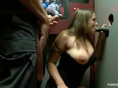 Curvaceous Cassidy Lynn and Natasha Nice fuck in public
