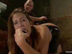 Trina Michaels toys her butt and gets it fisted and pounded hard
