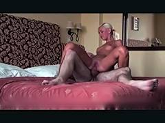 Golden Haired Russian hotty anal screwed by mature boy friend