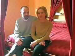 Italian non-professional pair fuck in the butt
