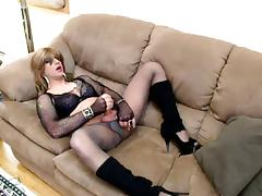 pleasure on the couch