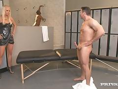 Carla Cox enjoys ardent DP in a hot interracial threesome
