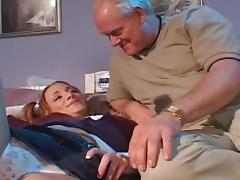 Old man is penetrating young girl Siarrs Sinn