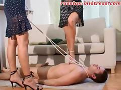 Russian-Mistress Video: Irina & Ksusha