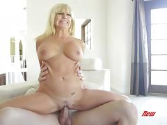 Tara Holiday Rides Like A Horny Cowgirl On Top Of Billy Glide