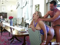 Amazing sex with the smoking hot milf Paige Turnah