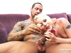 Splendid L. Taylor Goes Extremely Hardcore With A Tattooed Man
