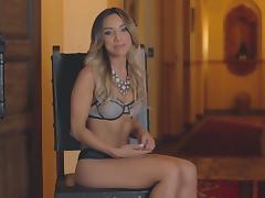 Yesenia Bustillo poses for a nasty erotic hot ass scene